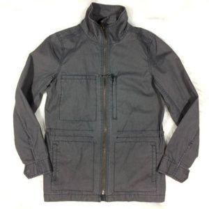 Madewell Fleet Jacket Gray Utility Jacket